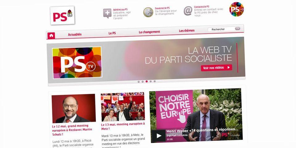 Le Parti socialiste se dit victime d'une attaque à visée politique de son site web