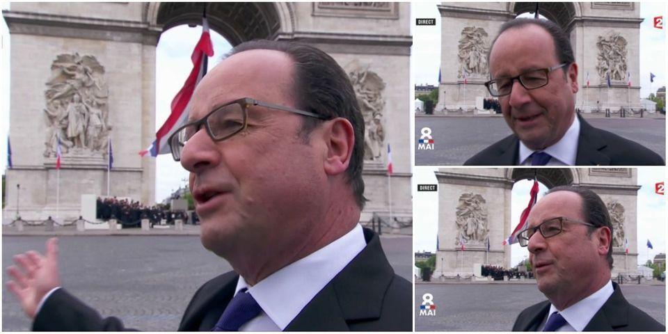 """Le paternalisme de François Hollande : """"Je serai toujours à côté"""" d'Emmanuel Macron"""