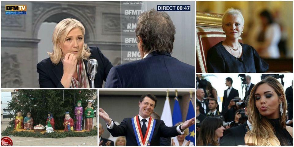 Le Pen qui diffuse des photos d'exécutions de Daech, article le plus lu de la semaine sur le Lab