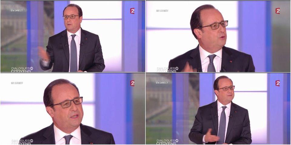 Le petit satisfecit de Hollande à Nuit debout en forme d'attaque contre le vote FN