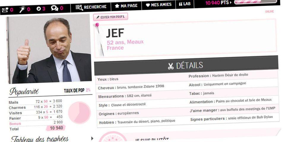 Le profil *Adopte un président* de  Jean-François Copé