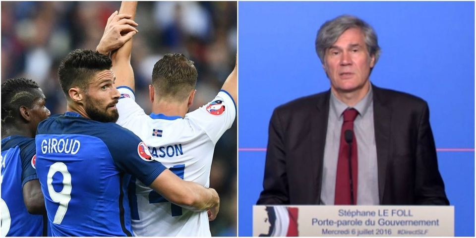 Le pronostic optimiste de Stéphane Le Foll pour France-Allemagne : 2-0... pour la France