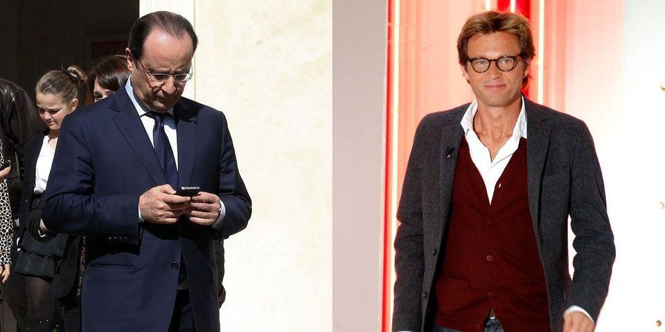 Le SMS de François Hollande à Laurent Delahousse pour le prévenir des résultats des élections allemandes