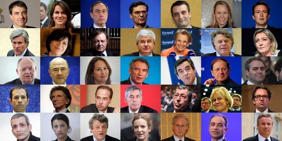 Législatives 2012 : les résultats de 35 poids lourds de la politique nationale