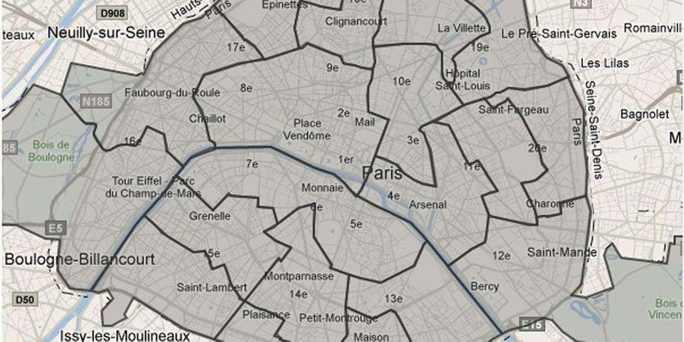 Législatives à Paris : une belle carte interactive
