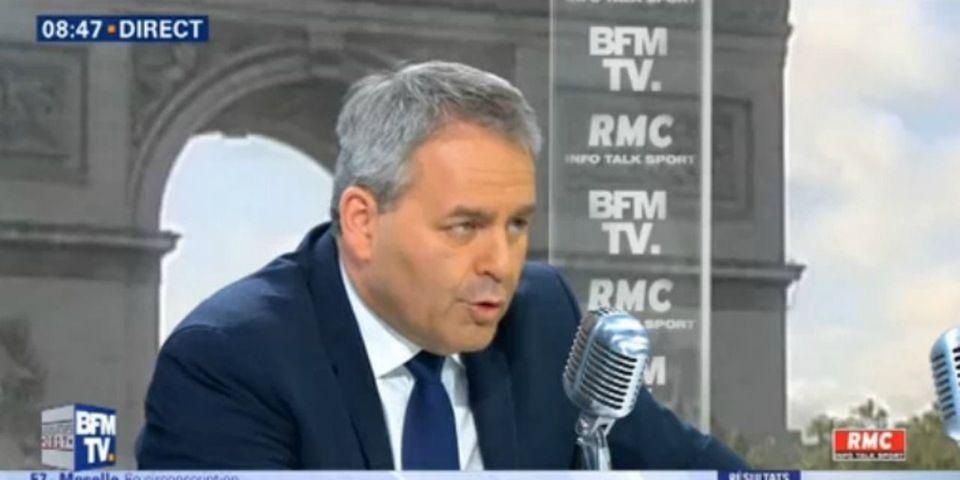 Législatives : Xavier Bertrand appelle les électeurs de droite à voter contre le FN (en cas de duel avec LREM)