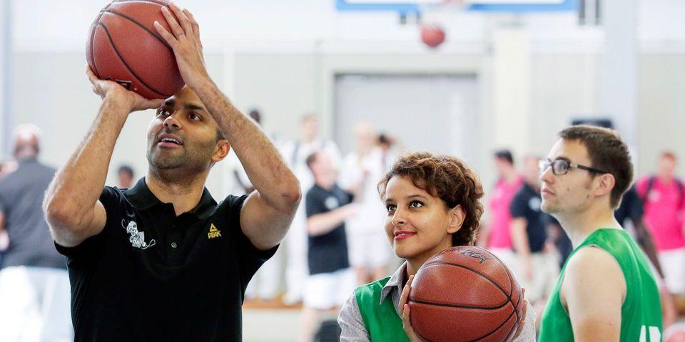 Législatives : le basketteur français Tony Parker soutient Najat Vallaud-Belkacem