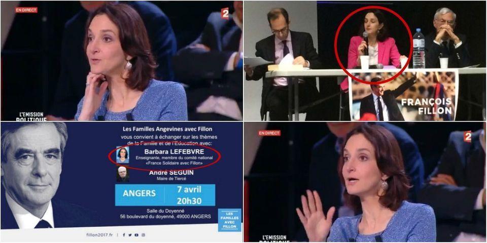L'Émission politique : Barbara Lefebvre, la prof qui a débattu avec Macron, participe à la campagne de Fillon (mais le dément)