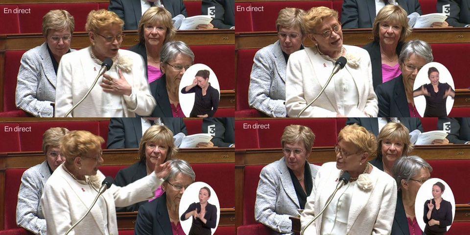 Les adieux de Danièle Hoffman-Rispal, la suppléante de Cécile Duflot à l'Assemblée