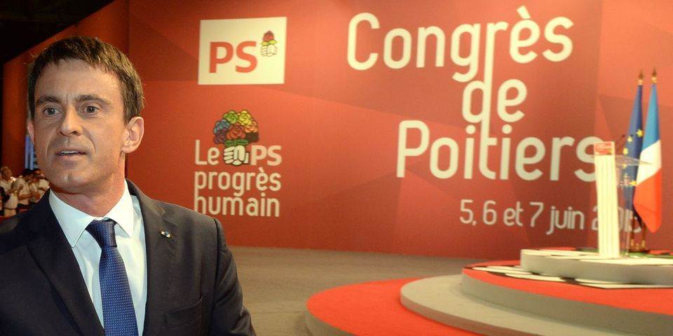 Les chanceux et les oubliés du discours de Manuel Valls au congrès du PS à Poitiers