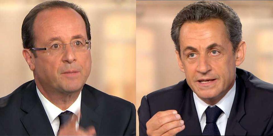 Les cinq moments clés du débat Sarkozy Hollande