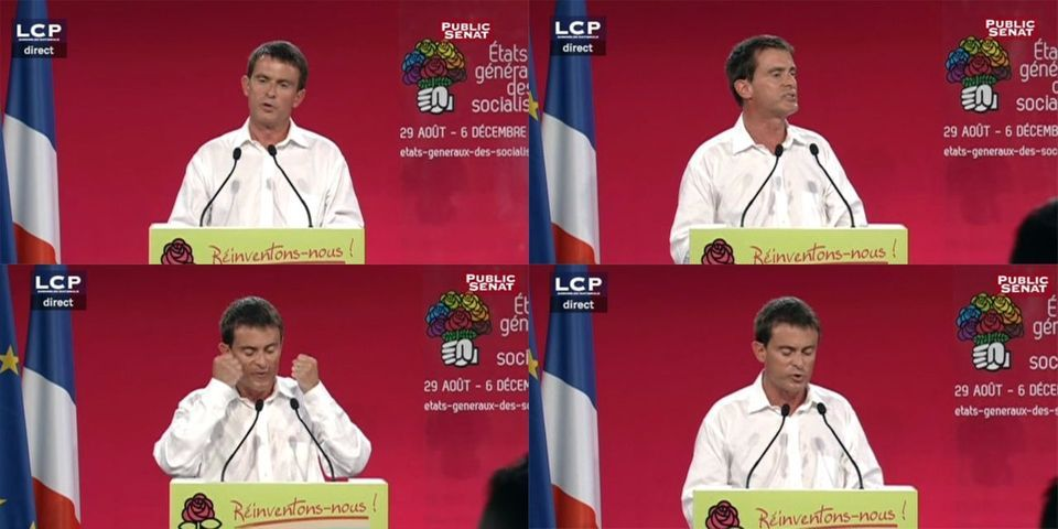 Les cinq moments clés du discours de Manuel Valls à La Rochelle