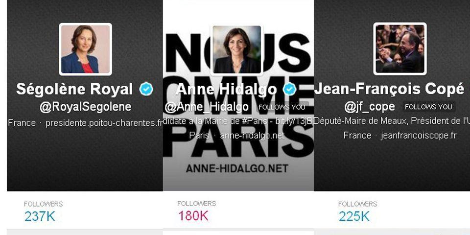 Les comptes Twitter de nombreuses personnalités politiques françaises voient leur nombre d'abonnés exploser en une nuit