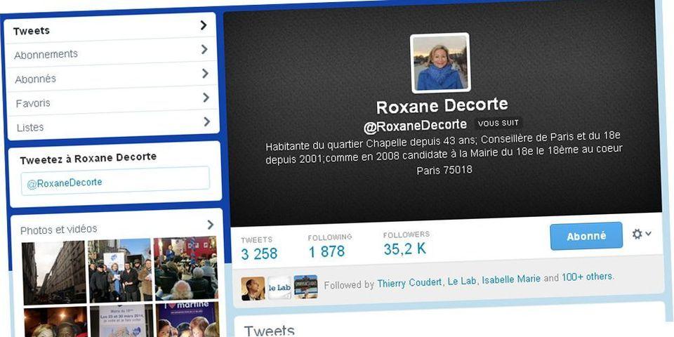 La curieuse explosion du nombre de followers de Roxane Decorte, candidate dissidente UMP à Paris