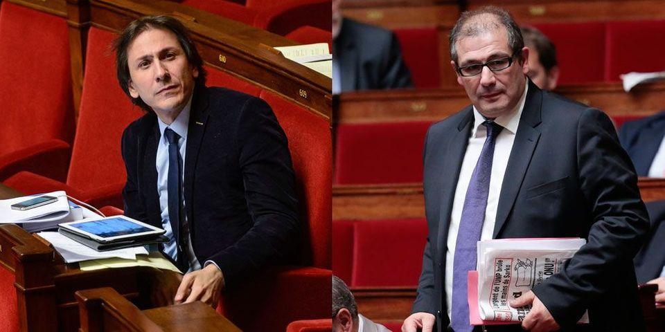Les députés de l'aile gauche du PS, Jérôme Guedj et Pascal Cherki, boycottés par François Hollande