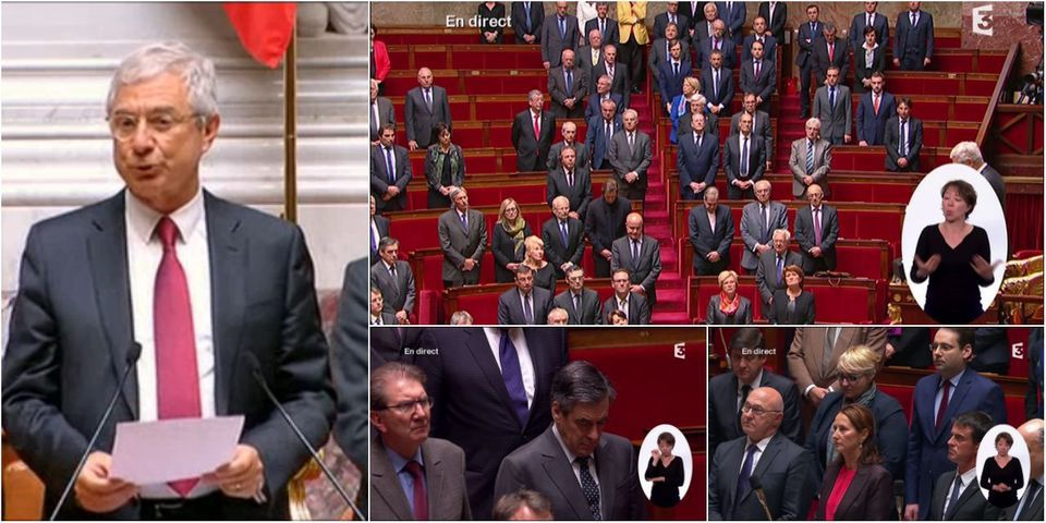 Les députés observent une minute de silence en hommage à Anne Grommerch, députée LR décédée le 15 avril