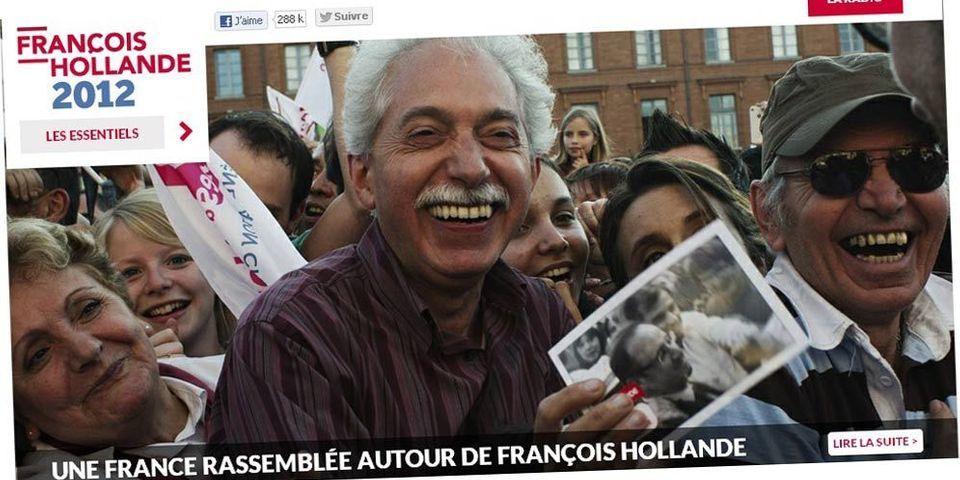 Les dons en ligne ont rapporté 800.000 euros à la campagne de Hollande
