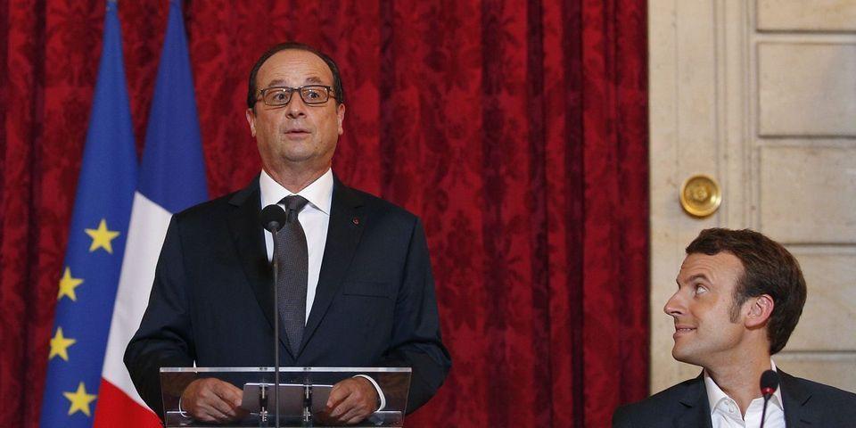 Les éloges de François Hollande sur Emmanuel Macron