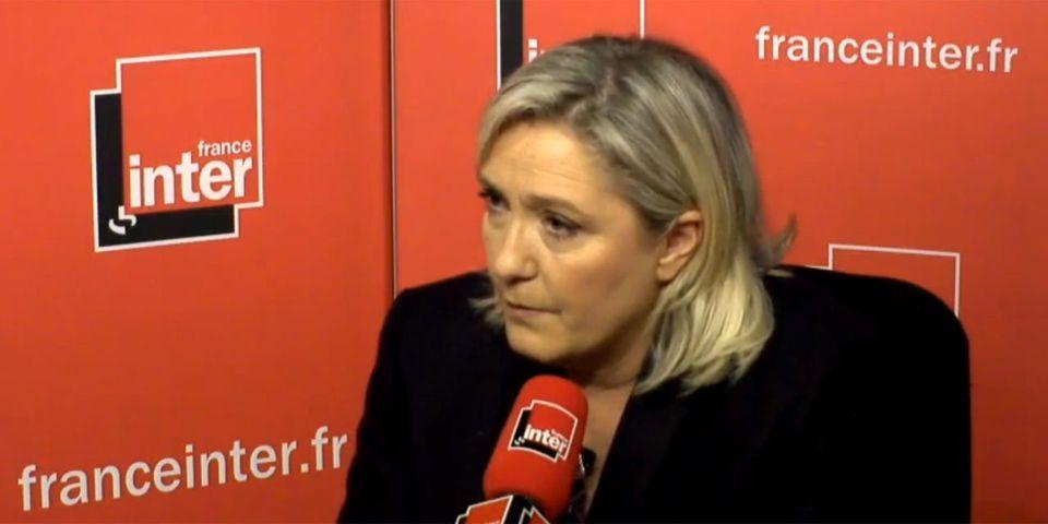 Les grosses intox de Marine Le Pen à propos de Christiane Taubira et Bernard Cazeneuve