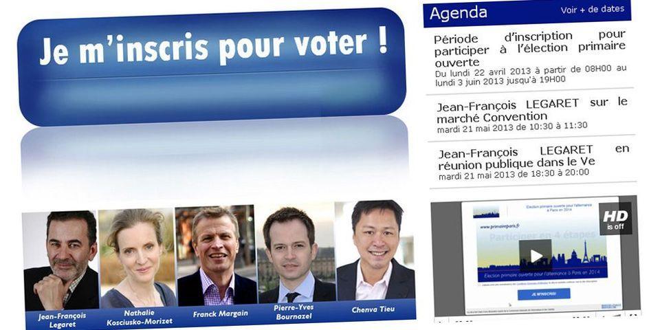 Les liens entrants du site de la primaire UMP: Le Salon beige, Nouvelles de France et La Manif pour tous