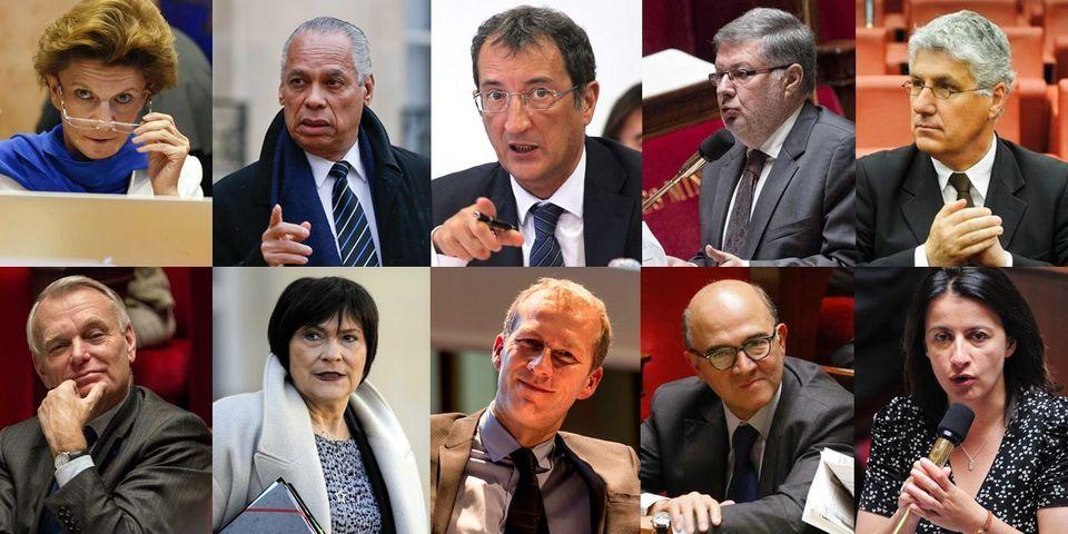 Les dix députés suppléants qui doivent laisser leur siège aux ministres sortants