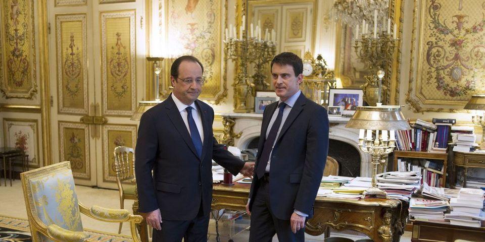 """Les petites confidences """"on the record"""" de François Hollande depuis la nomination de Manuel Valls à Matignon"""
