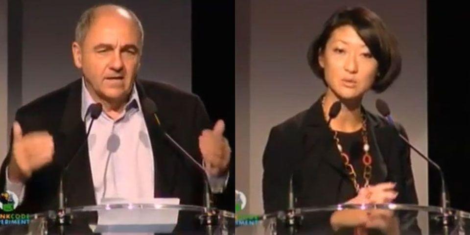 """Les """"pigeons"""" provoquent un incident diplomatique entre Fleur Pellerin et Jean-Louis Missika"""
