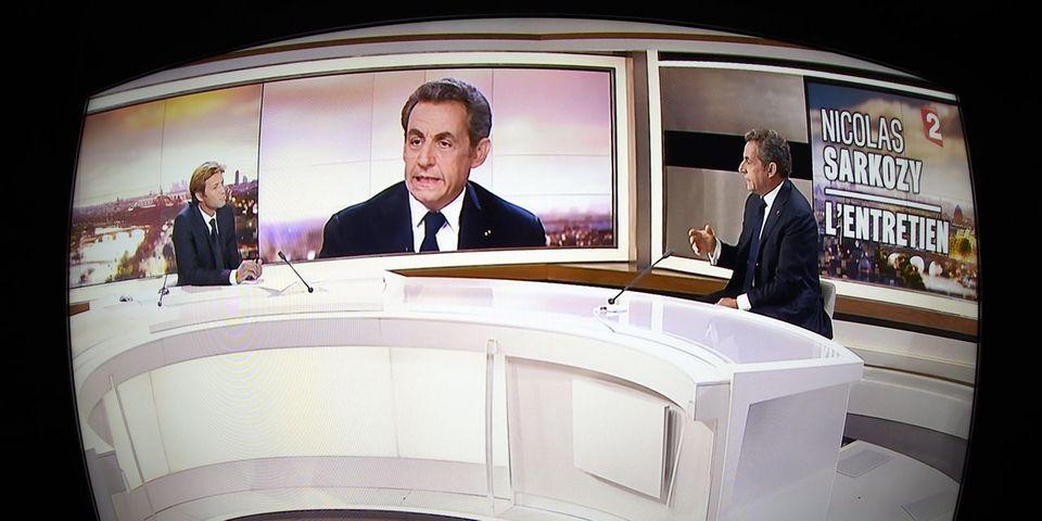 Les pirouettes de Nicolas Sarkozy pour éviter de répondre aux questions de Laurent Delahousse