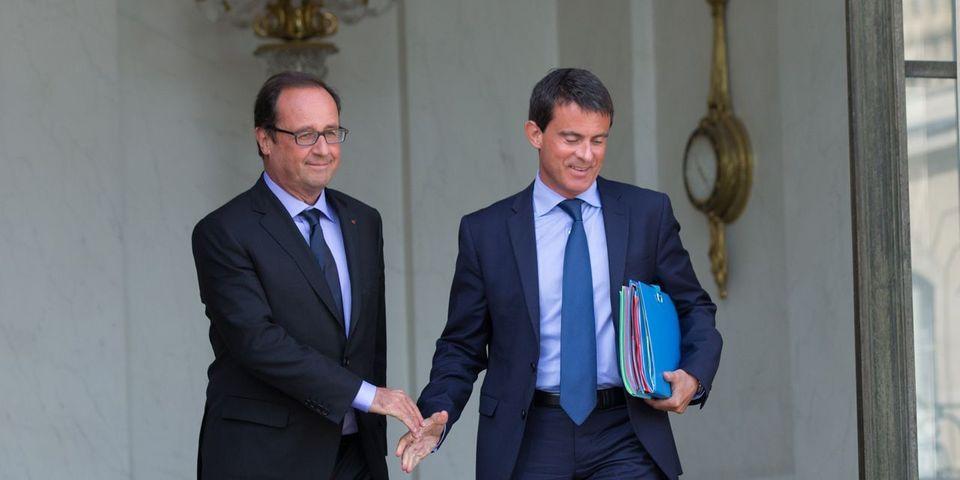 """Démission du gouvernement : le """"consensus"""" entre Hollande et Valls"""