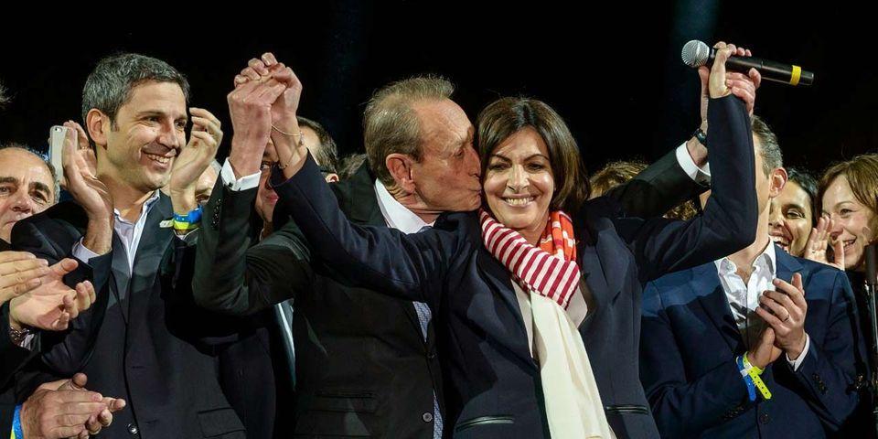 Les premières heures d'Anne Hidalgo, maire de Paris et rescapée de la gauche