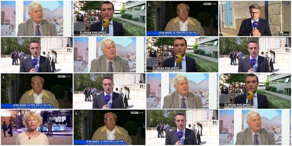 """Les pro-Jean-Marie Le Pen ont (un peu) plus squatté les médias que les anti après l'exclusion du """"Menhir"""""""