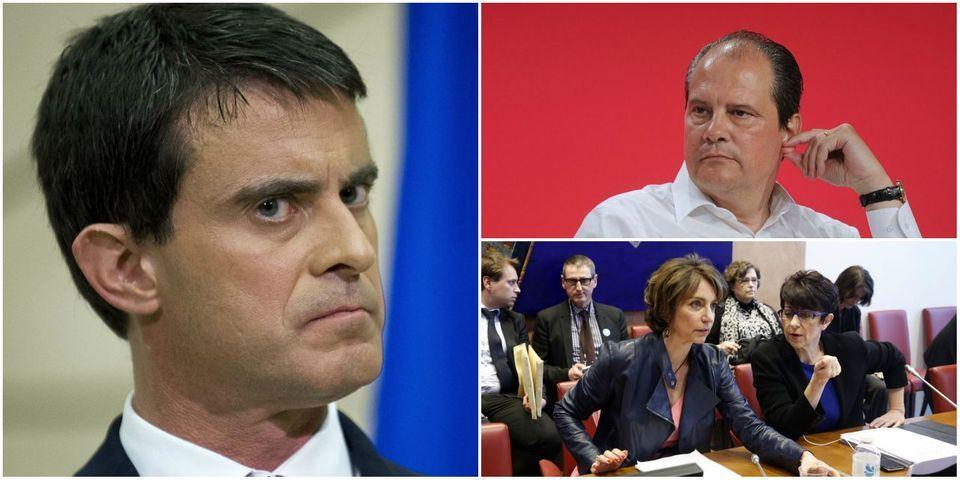 """Du """"spectacle effrayant"""" de Manuel Valls au féminisme de Marisol Touraine : les réactions politiques au discours du 1er mai de Marine Le Pen"""