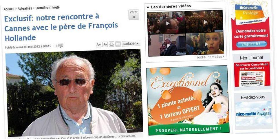 Les très brèves confidences du père de François Hollande