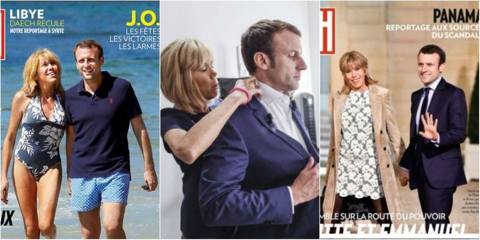 """Les très fréquentes apparitions d'Emmanuel Macron (et son couple) dans """"Paris Match"""""""