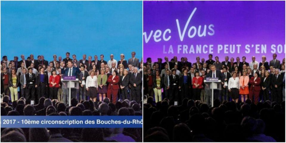L'horrible photomontage d'un candidat aux législatives qui colle son corps sur celui de Nicolas Dupont-Aignan