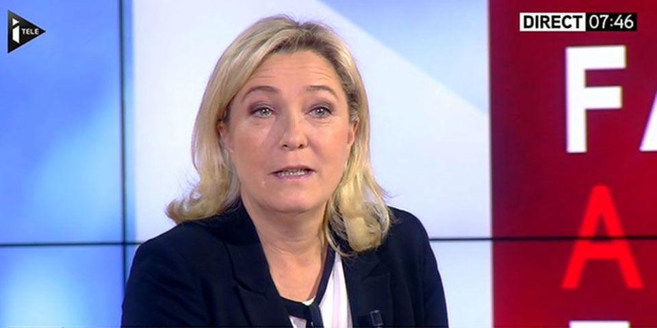 Une de Closer Hollande-Gayet : Marine Le Pen soutient François Hollande