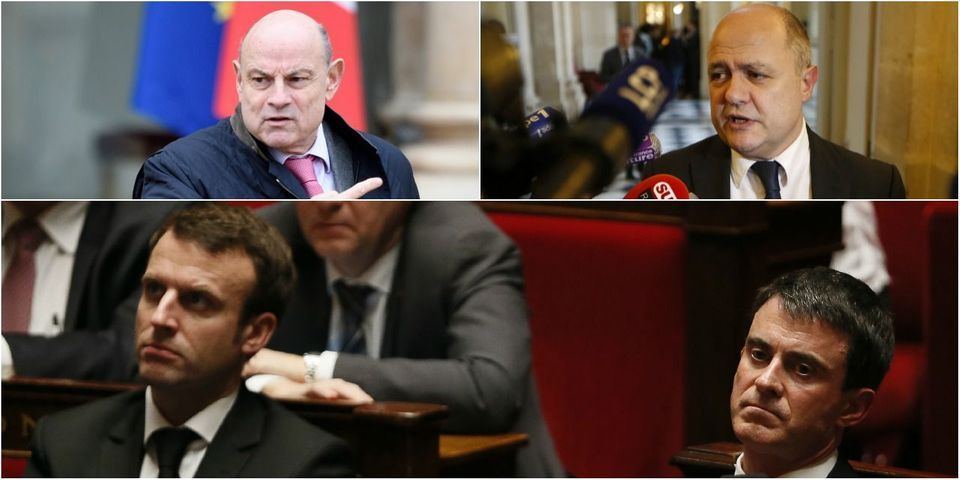 Loi Macron : Valls, Macron, Le Roux et Le Guen mènent l'offensive anti-frondeurs