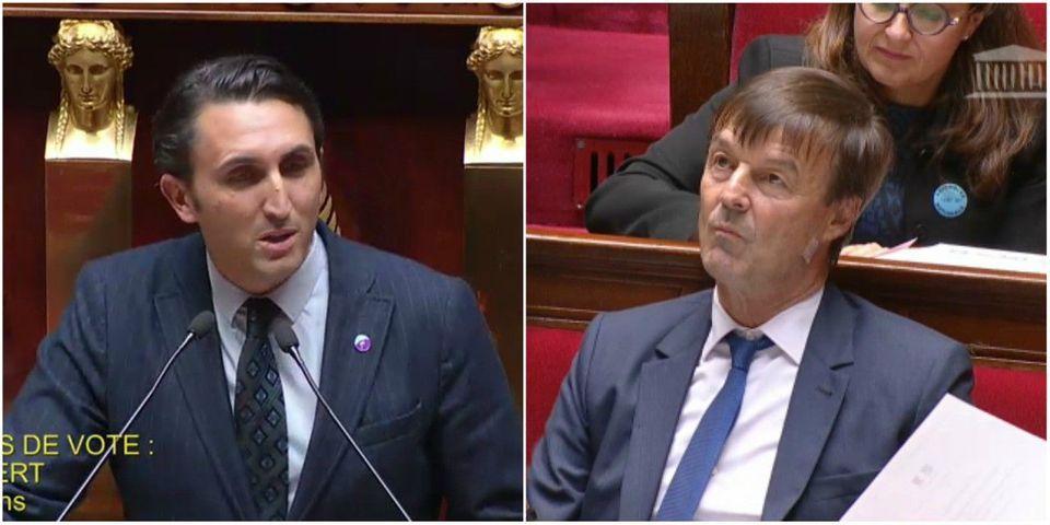 Loi sur les hydrocarbures : Julien Aubert (LR) explique à Nicolas Hulot que son texte ne traite que 0.00018 % du problème mondial