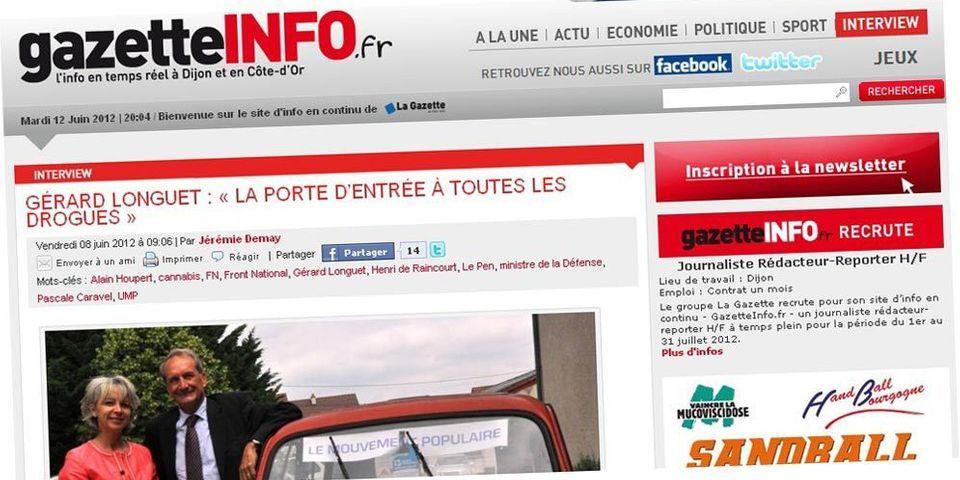 """Longuet : """"Des quartiers de France sont à l'image du Yémen ou des côtes africaines"""""""