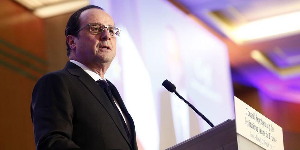 """Lors de son discours au dîner du CRIF, François Hollande reprend le concept de """"Français de souche"""""""