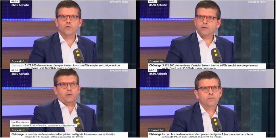 Luc Carvounas compare le parcours politique de son ami Manuel Valls à celui d'Éric Besson