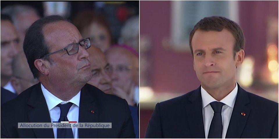 Lutte contre le terrorisme : à Nice, l'hommage d'Emmanuel Macron à Hollande, Valls et Cazeneuve