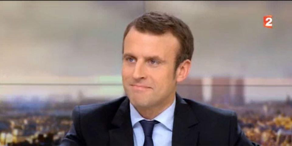 Macron assure qu'il regardera Hollande sur France 2 jeudi soir alors qu'il dînera à Londres avec des banquiers