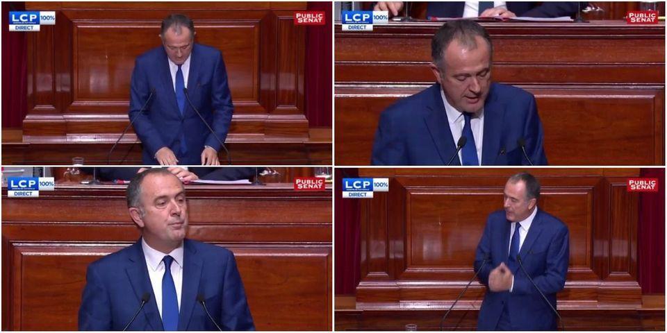Macron au Congrès : le patron des sénateurs PS propose qu'à l'avenir, le Président réponde aux parlementaires