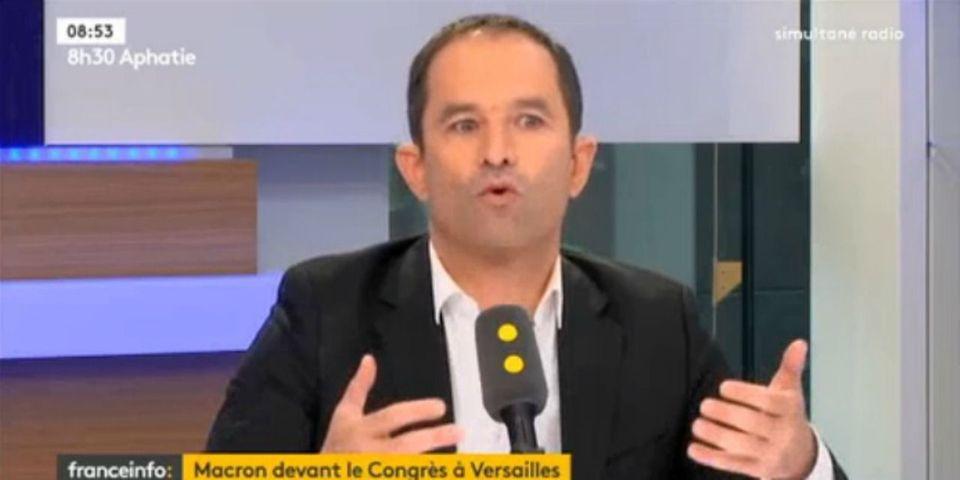 Macron devant le Congrès : Benoît Hamon propose de supprimer le poste de Premier ministre