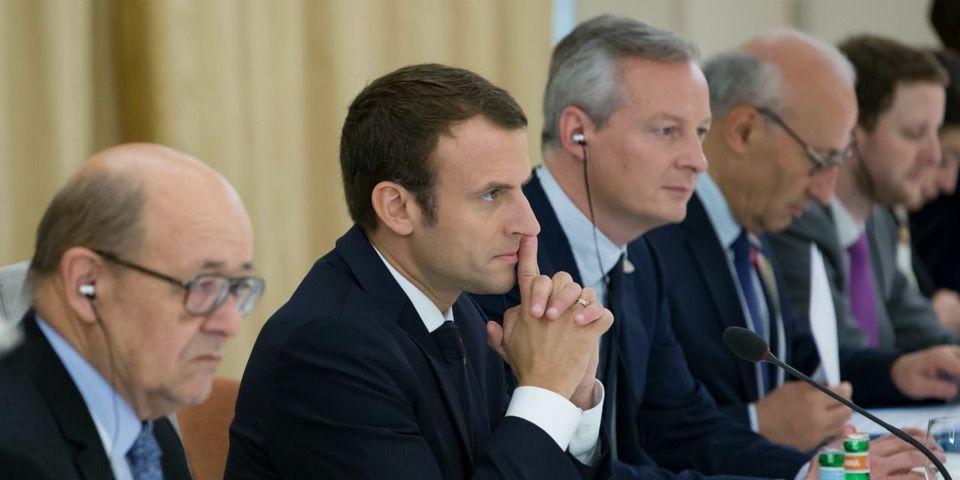 """Macron met en garde ses ministres : """"c'est du pipi de chat, ce qui me remonte actuellement de certaines de vos notes"""""""