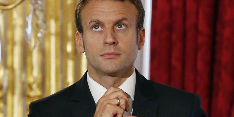 """Macron répond à Hamon sur le financement de """"En Marche !"""" : """"Chez moi, on ne vit pas du contribuable"""""""