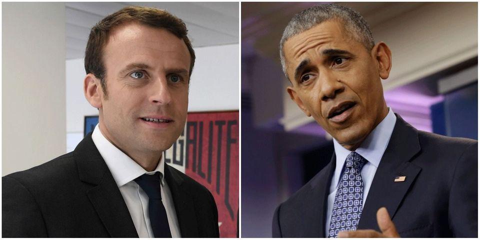 Macron tient à vous faire savoir qu'Obama voulait absolument lui parler au téléphone