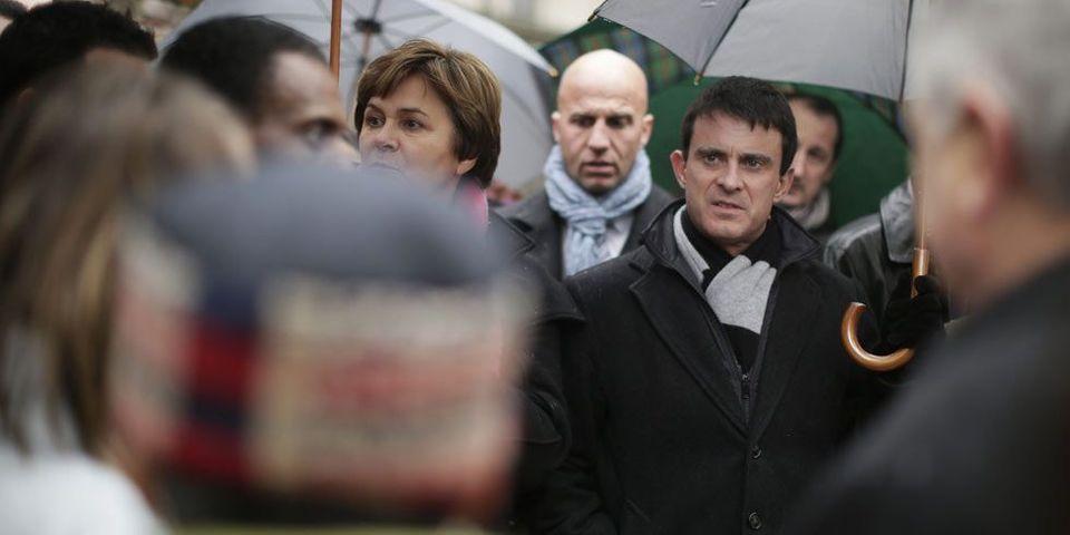 Manuel Valls admirateur de Clemenceau jusque sur sa carte de voeux