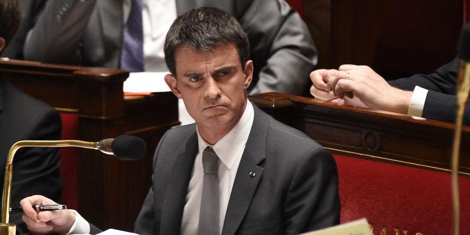 """Manuel Valls agacé d'entendre associée la loi """"pour la croissance et l'activité"""" à Emmanuel Macron"""